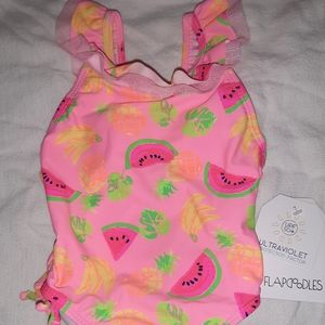 NWT Flapdoodles 2T Girls Swimsuit Bathing Suit NEW